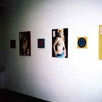 Installation view, Hotel Romantica