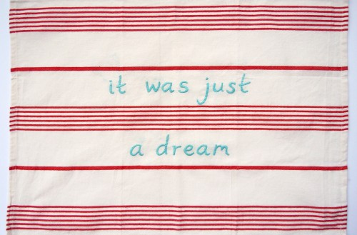 it was just a dream